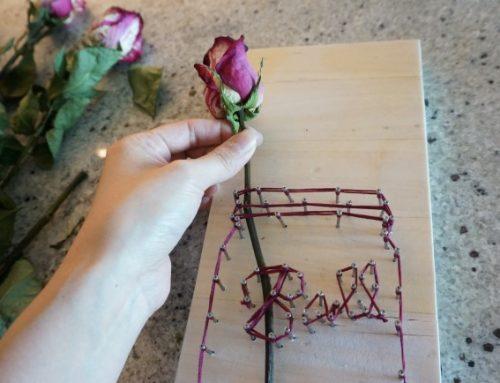 DIY – String Art Mason Jar